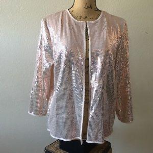 NWT..Lularoe Stella Pink Sequins Bolero- EBay